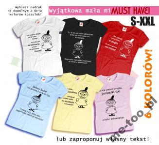 Koszulka Mala Mi Super Teksty Na Prezent 5280343758 Oficjalne Archiwum Allegro
