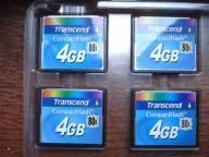 CF 4 gb TRANSCEND nowa