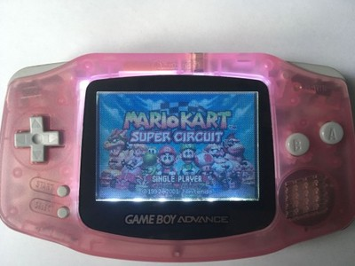 Gameboy Advance Podświetlany Frontlight !!