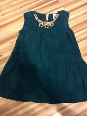 Sztruksowa sukienka Zara roz. 94