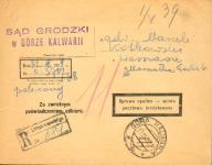 1939 - Góra Kalwaria - polecony