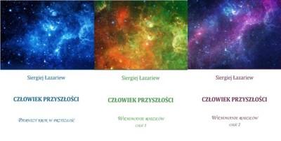 T_ Łazariew PAKIET 3 książek Człowiek przyszłości