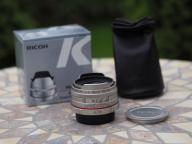 PENTAX DA 15mm F4 ED AL Limited silver