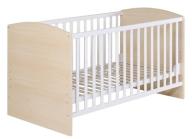K81 Roba łóżeczko drewniane belki wyciągane 5549