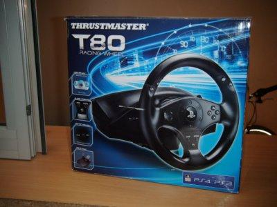 KIEROWNICA THRUSTMASTER T80 DO PS3/PS4  GWARANCJA