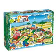 Tor 5,5m Garaż 4 Autka Kid Cars 3D WADER 51793 POL