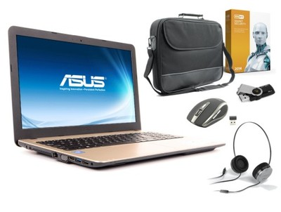 Laptop ASUS R540SA INTEL 2x2,16GHz 4GB 1TB W10+250