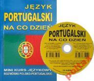 Język portugalski na co dzień Rozmówki + CD 24HWAW