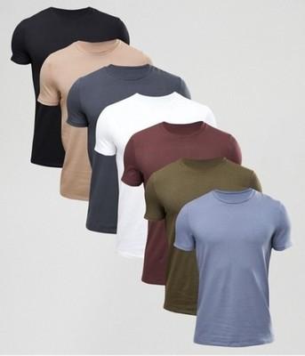 koszulki męske komplet pakiet  exAsos 7 szt M
