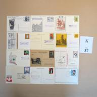 Karty pocztowe kas. okol. MIX BCM!! (K37)