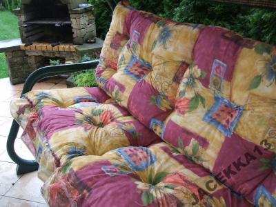 poduszki na hustawkę 3-osob WYPRZEDAŻ tylko 55zł
