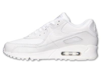 Nike air max 90 307793 111 białe męskie wysylka pl Zdjęcie