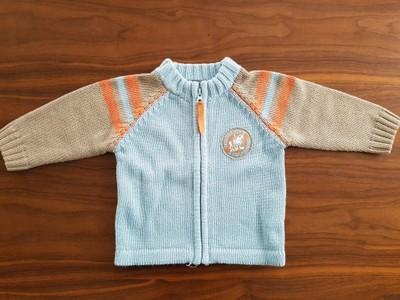 Sweterek chłopięcy 68 Coccodrillo +gratis koszulka