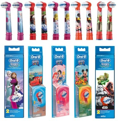 Końcówki Szczoteczki Dla Dzieci Oral B Star Wars 5509475414