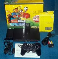 SONY PLAYSTATION PS2 Slim 77004 + 8MB FMCB + NOWA!