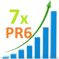 7 x Link PR 6 Premium 365 dni Reklama