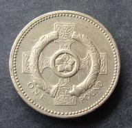 Wlk. Brytania - 1 Funt 1996
