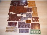Płytki drukowane UNITRA - Diora, Radmor, Eltra