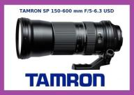 TAMRON SP 150-600 mm F/5-6.3 USD NIKON NOWY GWAR
