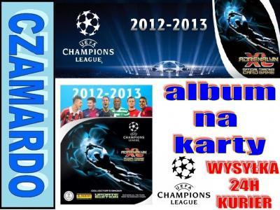 ALBUM NA KARTY UEFA CHAMPIONS LEAGUE PIŁKA NOŻNA
