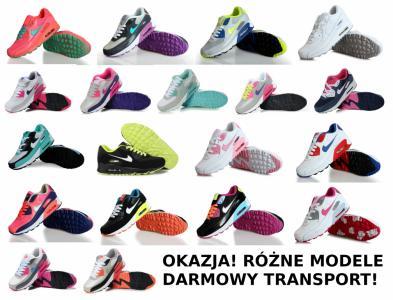 Buty Nike Air Max 90 kolory damskie!!! Zdjęcie na imgED