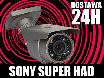 Kamera CCD Sony 42 diody IR PODCZERWIEN_monitoirng