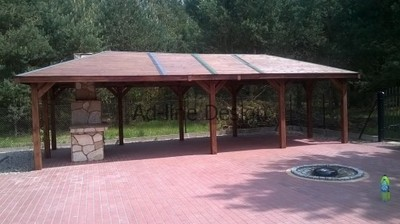 Altana 35x8 Wiata Grillowa Garaż Domek Altanka 6700125815