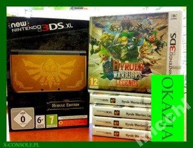 Hyrule Warriors Legend + New Nintendo 3DS XL
