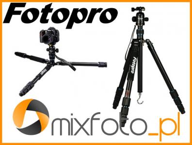 Statyw FOTOPRO MGA-684 + głowica kulowa FPH-62Q +s