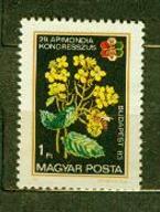 WĘGRY** Pszczoła na kwiecie  Mi 3631