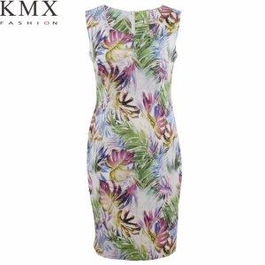 bd878d9b24 Sukienka KMX 90188 Kwiatowa dżungla - 38 - 6287775652 - oficjalne ...