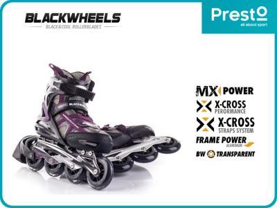 ROLKI DAMSKIE fitness BW-720W Blackwheels 41