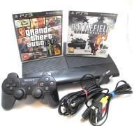 KONSOLA PS3 SUPER SLIM + 1PAD+2GRY