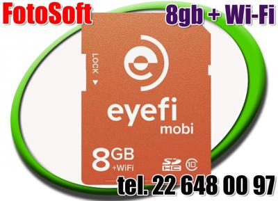 Karta pamięci EYE-FI MOBI 8GB KLASA 10 Wi-Fi