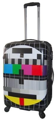 f7eb773a7c86f Walizka twarda średnia SAXOLINE Tv Screen 67cm 53L - 6635205967 ...