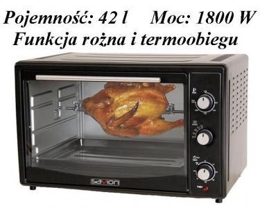 MINI PIEKARNIK SAVION SPK-421TR 42l FUNKCJA ROŻNA