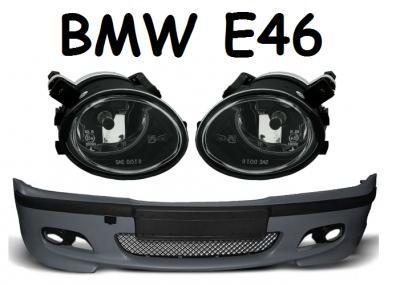 ZDERZAK PRZEDNI BMW E46 M-PAKIET + HALOGENY CENA
