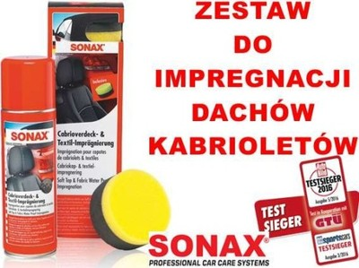 SONAX IMPREGNAT DO DACHÓW KABRIOLETÓW 370