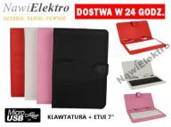 Klawiatura  Etui do tabletu tableta micro USB T145