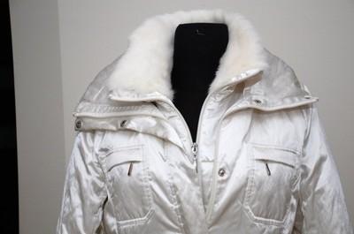 c7f61bdd37 biała kurtka Taranko r 40 - 6597984118 - oficjalne archiwum allegro