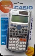 Kalkulator naukowy zaawansowany casio fx-991ESPLUS