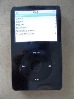 Mp3 Mp4 Apple Ipod 5th Gen 30 Gb A1136 Classic 6814307104 Oficjalne Archiwum Allegro