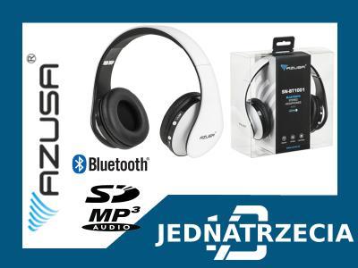 SŁUCHAWKI BEZPRZEWODOWE BLUETOOTH SD MP3 BT1001