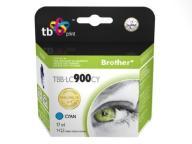 Tusz TBB-LC900CY (Brother LC900) Błękitny 100%
