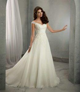 Nowość śliczna Suknia ślubna Retro Boho 6091271876 Oficjalne