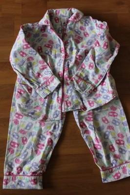 piżamka ciepła 98-104