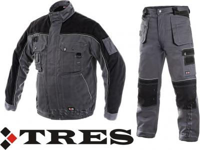 2058977773 MOCNE ubranie robocze bluza spodnie pas ORION 46 - 5709634528 ...