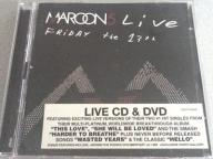 Maroon 5 Live Friday The 13th DVD + CD