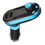 TRANSMITER FM 2x USB BLUETOOTH MP3 AUX Ładowarka