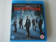 INCEPTION 2xBLU-RAY DISC + DVD UK IDEAŁ